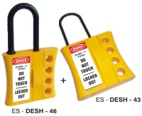 LOCKOUT TAGOUT DUBAI(DE - ELECTRIC SLIDER HASP) from GULF SAFETY EQUIPS TRADING LLC