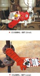LOCKOUT TAGOUT DUBAI(Settable Ball Valve Lockout) from GULF SAFETY EQUIPS TRADING LLC
