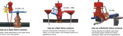 LOCKOUT TAGOUT DUBAI(Universal Valve/ Cable ) from GULF SAFETY EQUIPS TRADING LLC