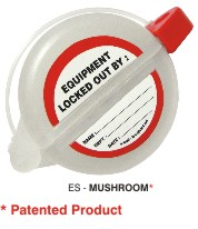 LOCKOUT TAGOUT DUBAI(MUSHROOM : Normal push button from GULF SAFETY EQUIPS TRADING LLC