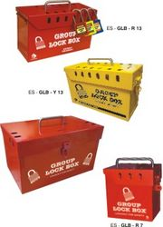LOCKOUT TAGOUT DUBAI(Group Lock Box) from GULF SAFETY EQUIPS TRADING LLC