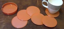 Coasters in Different color from AL BARSHAA PLASTIC PRODUCT COMPANY LLC