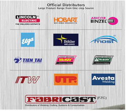WELDING ELECTRODES from FABRICAST FZC-UAE-DISTRBTRS OF WELDING PRODUCTS