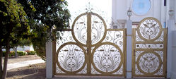 STEEL DOORS & GATES from AFLAJ MAJAN TRADING