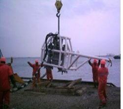 SUBMERSIBLE PUMP FOR OFFSHORE INSTALLATIONS