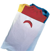 Die cut handle plastic bag in UAE from AL BARSHAA PLASTIC PRODUCT COMPANY LLC