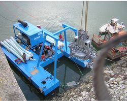 CUSTOM BUILT DREDGING PONTOON Supplier in Abu Dhabi