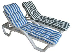 Sunlounger Cushion for pool water proof 042222641 from ABILITY TRADING LLC