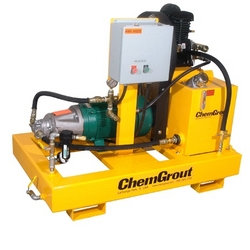 ELECTRIC DRIVEN HYDRAULIC POWERUNIT FOR GROUT PUMP