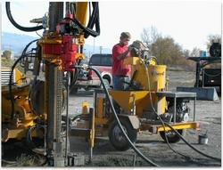 GEOTHERMAL LOOP GROUTING EQUIPMENT