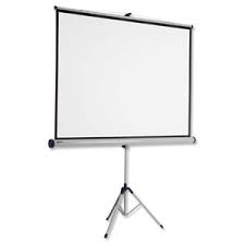TRIPOD/PORTABLE PROJECTION SCREEN from SIS TECH GENERAL TRADING LLC