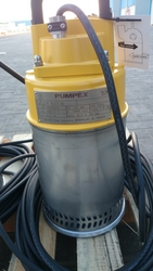 "Pumpex P-601, 2"" portable submersible pump from LEO ENGINEERING SERVICES LLC"
