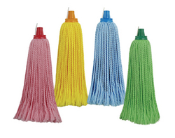 Round Microfiber Mop head from AL MAS CLEANING MAT. TR. L.L.C