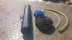 Cidat wire reinforced rubber suction hoses(Italy) from LEO ENGINEERING SERVICES LLC