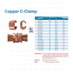 COPPER C CLAMPSUPPLIER IN UAE from ADEX INTL INFO@ADEXUAE.COM/PHIJU@ADEXUAE.COM/0558763747/0555775434