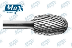 Carbide Rotary Burr Shape E (Oval Shape) from A ONE TOOLS TRADING LLC