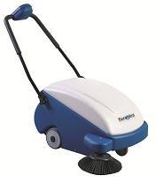 Walk behind Sweeping machine petrol/battery operat from TRENT INTERNATIONAL LLC