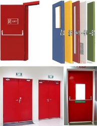FIRE RATED DOORS EXIT DOORS STEEL DOORS from SB GROUP FZE