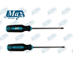 Magnetic Flat Screwdriver (Slotted) from A ONE TOOLS TRADING LLC