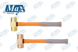 Non Sparking Sledge Hammer Copper / Brass 8 LB  from A ONE TOOLS TRADING LLC