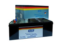 Truck Batteries from KUNZE PARTS WERKE