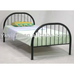 SINGLE STEEL BED for staff 042222641 from ABILITY TRADING LLC