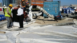 RENTAL OF PUMPS FOR FLUSHING (chemical cleaning) from LEO ENGINEERING SERVICES LLC