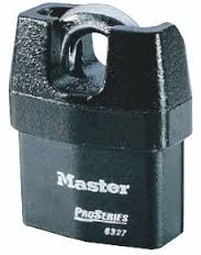 MASTER LOCK SHROUDED PADLOCK