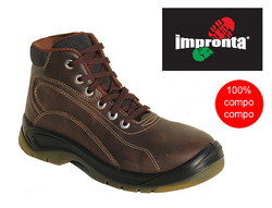 IMPRONTA - MONTAGNA SAFETY WORK SHOES