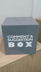 CUSTOMIZE SUGGESTION BOXES from SIS TECH GENERAL TRADING LLC