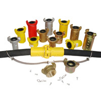 Blasting hose couplings