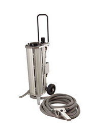 Portable sand blasting machine from POWERBLAST LLC