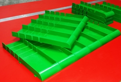 Advertising Shelf Trays Manufacturer in UAE from AL BARSHAA PLASTIC PRODUCT COMPANY LLC