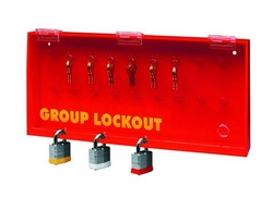 BRADY Acrylic Wall Lock Box - Large from SIS TECH GENERAL TRADING LLC