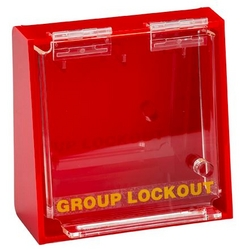 BRADY - Acrylic Wall Lock Box - Medium from SIS TECH GENERAL TRADING LLC