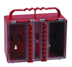 BRADY Portable Plastic Lock Box from SIS TECH GENERAL TRADING LLC