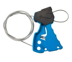 BRADY Original Cable Lockout - Blue from SIS TECH GENERAL TRADING LLC