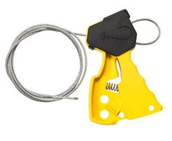 BRADY Original Cable Lockout - Yellow from SIS TECH GENERAL TRADING LLC