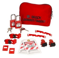 BRADY 120/277V Breaker Lockout Pouch from SIS TECH GENERAL TRADING LLC