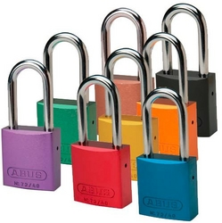 BRADY Different Aluminum Shackle Locks from SIS TECH GENERAL TRADING LLC