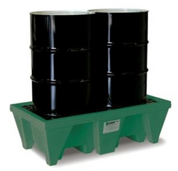 2-Drum ECO Poly-Spillpallet from SIS TECH GENERAL TRADING LLC