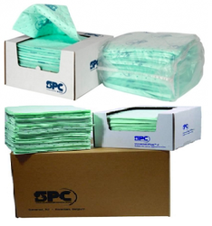Chemical Absorbant Pads and Rolls from GULF SAFETY EQUIPS TRADING LLC