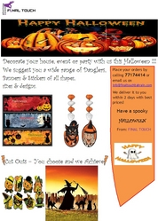 HALLOWEEN BY FINAL TOUCH from FINAL TOUCH ADVERTISING & EVENTS