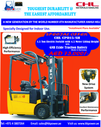 Anhui Heli CHL Electric Forklift from K K POWER INTERNATIONAL L.L.C.