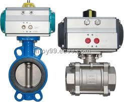 PNEUMATIC ACTUATED VALVES  from FRAZER STEEL FZE