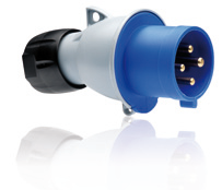 ABB PLUG 16 A, IP44 SPLASHPROOF SUPPLIER IN UAE from AL TOWAR OASIS TRADING