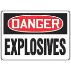 ACCUFORM SIGNS Explosives Sign in uae from WORLD WIDE DISTRIBUTION FZE