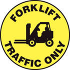 ACCUFORM SIGNS Forklift Traffic Only Sign in uae from WORLD WIDE DISTRIBUTION FZE