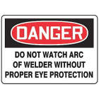 ACCUFORM SIGNS Do Not Watch Arc Of Welder Without  from WORLD WIDE DISTRIBUTION FZE
