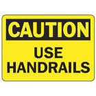ACCUFORM SIGNS Use Handrails signs in uae from EXCEL TRADERS